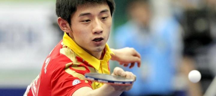 คลิปวิดีโอปิงปอง Ma long VS Zhang Jike 2014